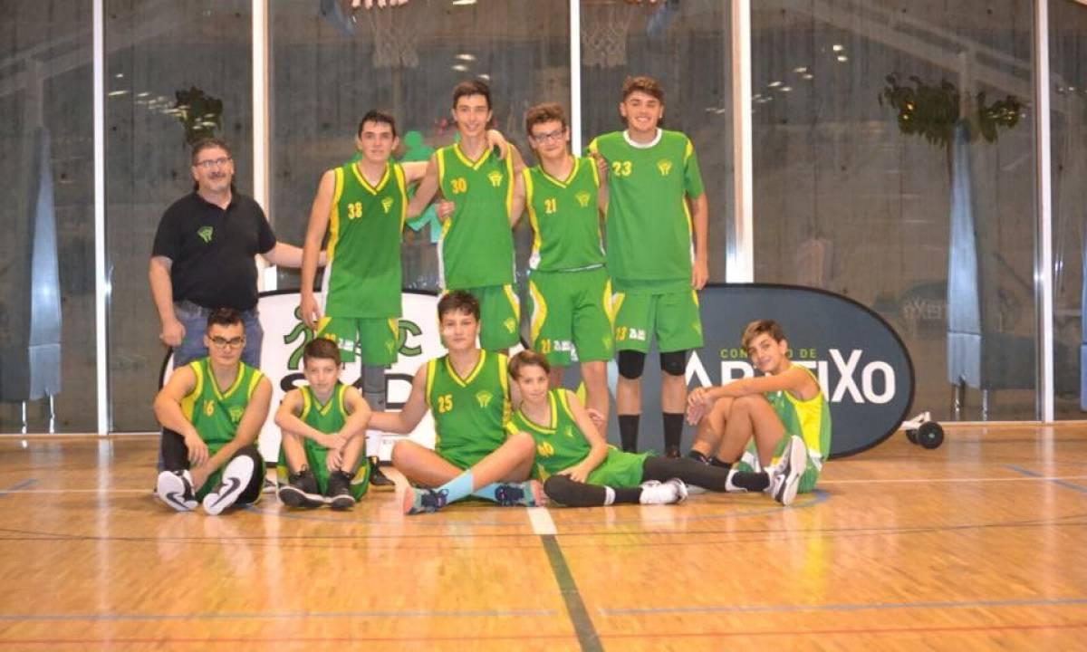 CB Arteixo DUACODE 65-53 Baloncesto Narón