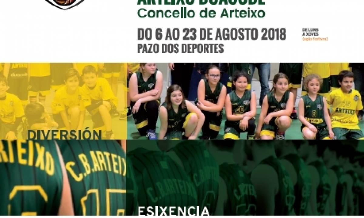 ESCOLA DE VERÁN DO CLUB BALONCESTO ARTEIXO DUACODE CONCELLO DE ARTEIXO