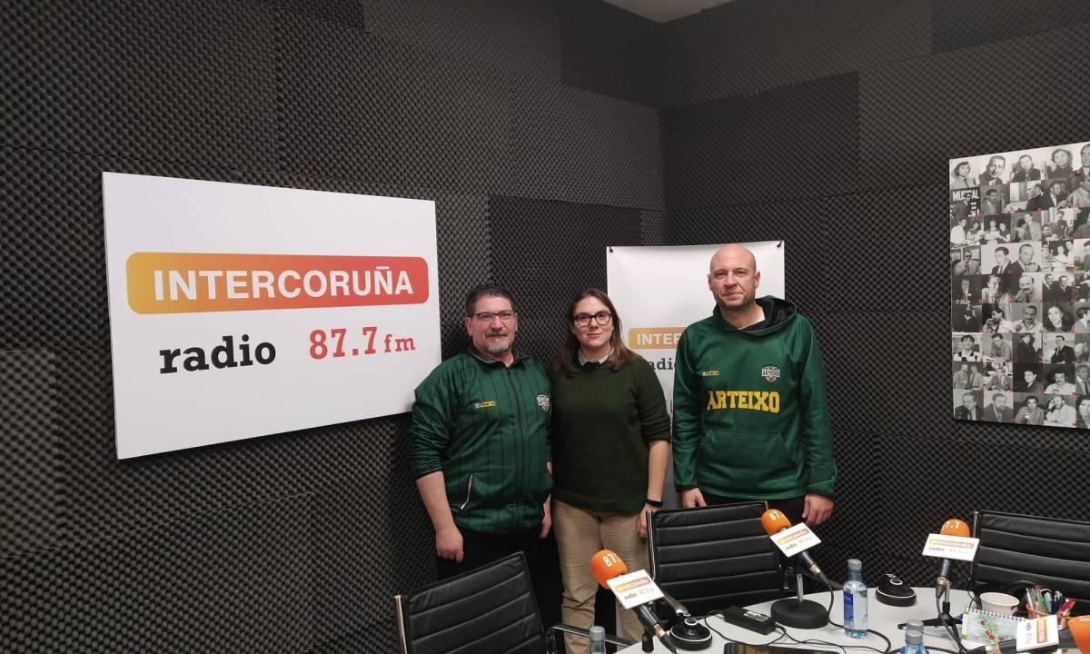 ENTREVISTA NA RADIO A 2 DIRECTIVOS DO CB ARTEIXO